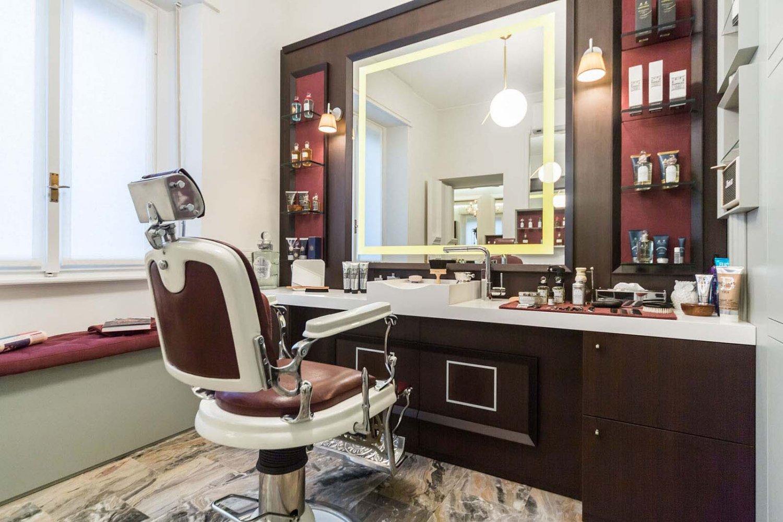 Barber shop pisterzi barbiere milano new york partners for Milano shop