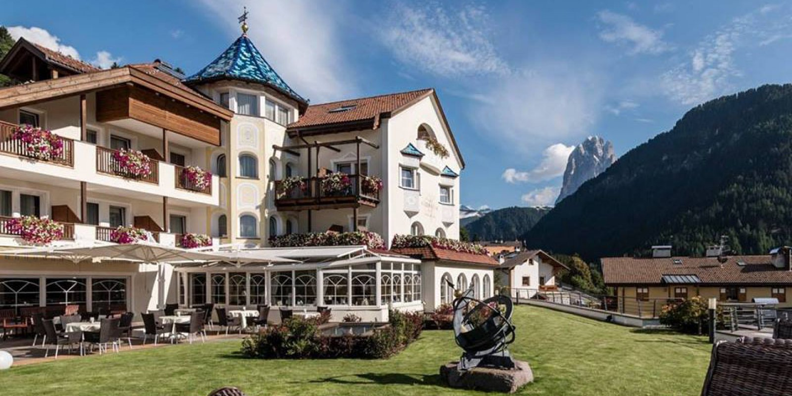 Alpenheim charming hotel spa hotel benessere con for Charming hotels