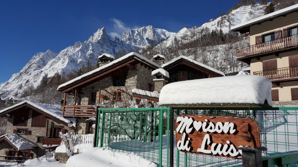 Maison di Luisa - Apartments for rent in Courmayeur