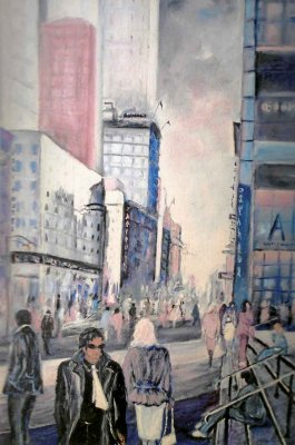 New York / 2002 / oil on canvas / 70 x 50 cm