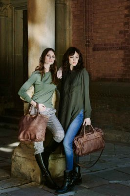 Massimiliano Incas New Collection - Leather bags and accessories Made in Italy