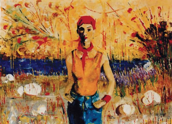 Piccola pirata / 2006 / oil on canvas / 80 x 100 cm