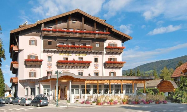 Union Hotel in Dobbiaco Puster Valley